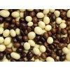 Arašídy v čokoládě a jogurtové polevě 1