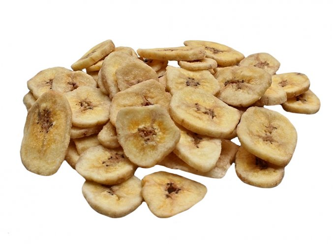 Banánové plátky 1 kg