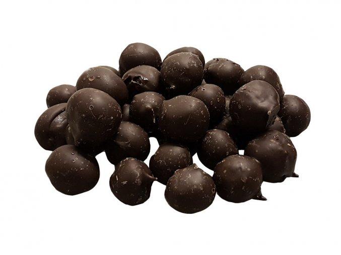 Angrešt v hořké čokoládě