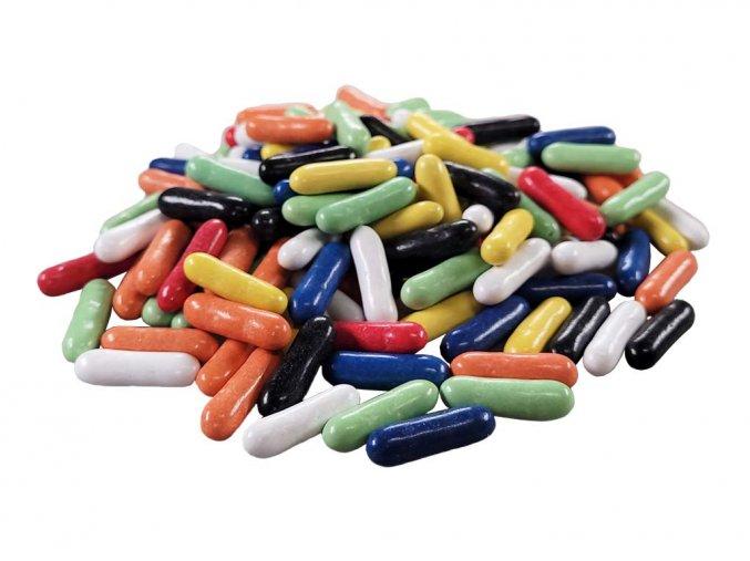 Lékořice v barevné polevě
