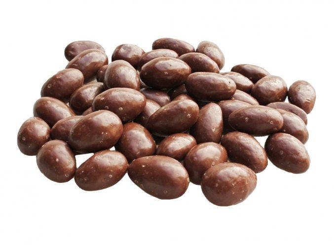 Mandle v mléčné čokoládě 3a