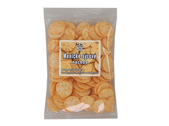 Mexické sýrové nachos