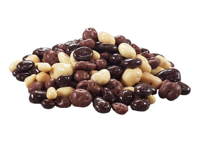 Rozinky v čokoládě a jogurtové polevě