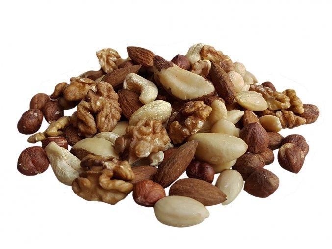 Směs ořechových jader bez rozinek