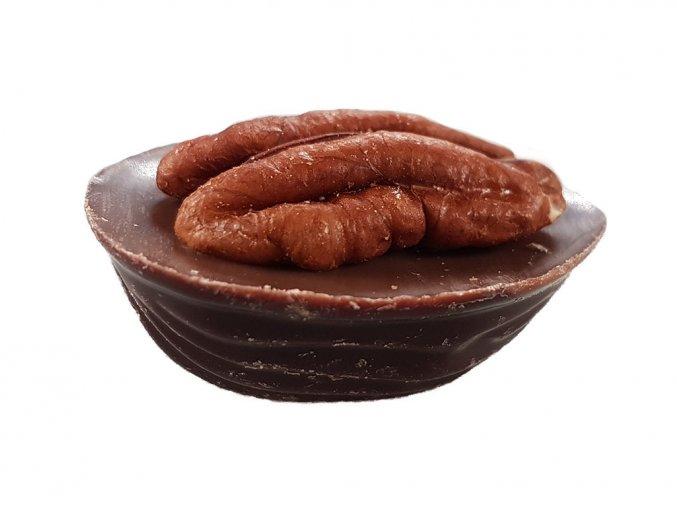 Vlašská jádra v hořké a mléčné čokoládě 0