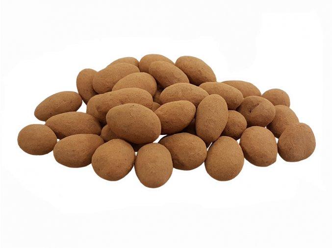 Mandle ve skořici a mléčné čokoládové polevě 1 kg