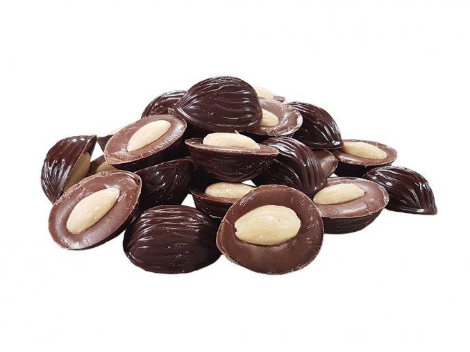Mandle v hořké a mléčné čokoládě 1 kg