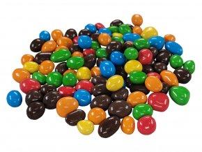 Arašídy v barevné čokoládě 3a