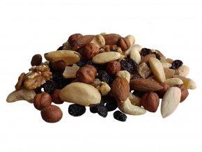Směs ořechových jader s rozinkami a tropickým ovocem 1 kg