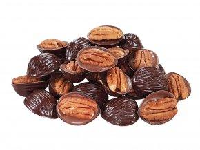 Pekan ořechy v hořké a mléčné čokoládě 1 kg
