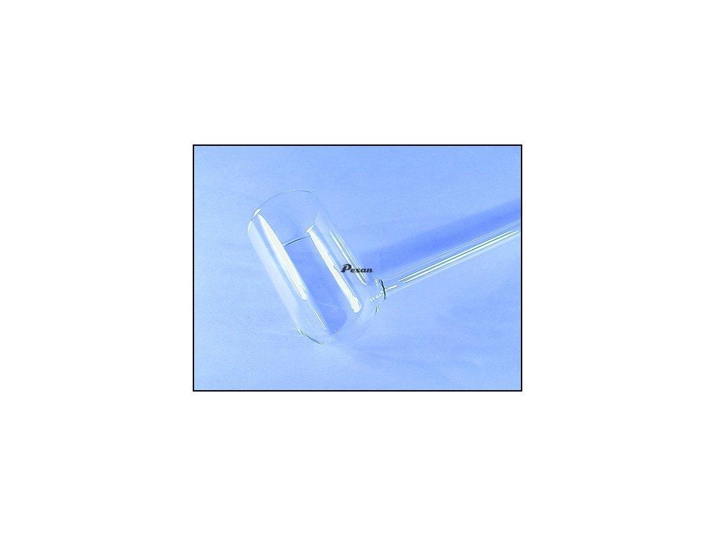Chytač ryb fajfka sklo -50mm VELKÁ
