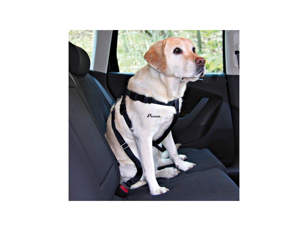 Postroj pes Bezpečnostní do auta S 30-60cm Trixie