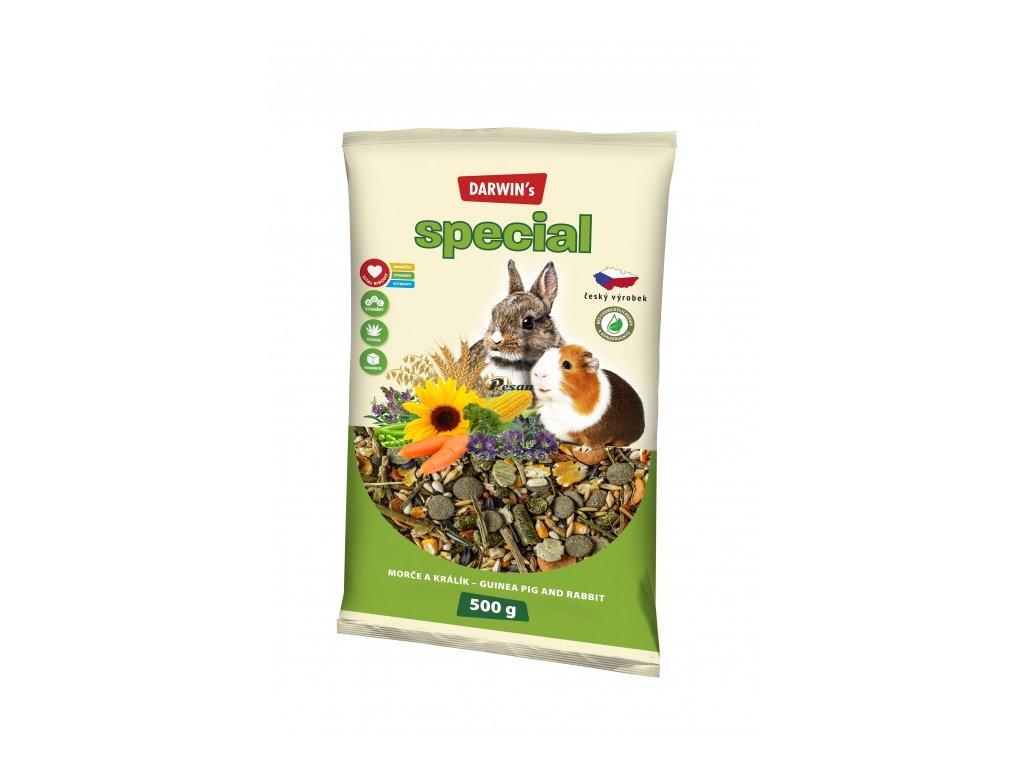 DARWIN's - NEW morče, králík SPECIAL 500 g