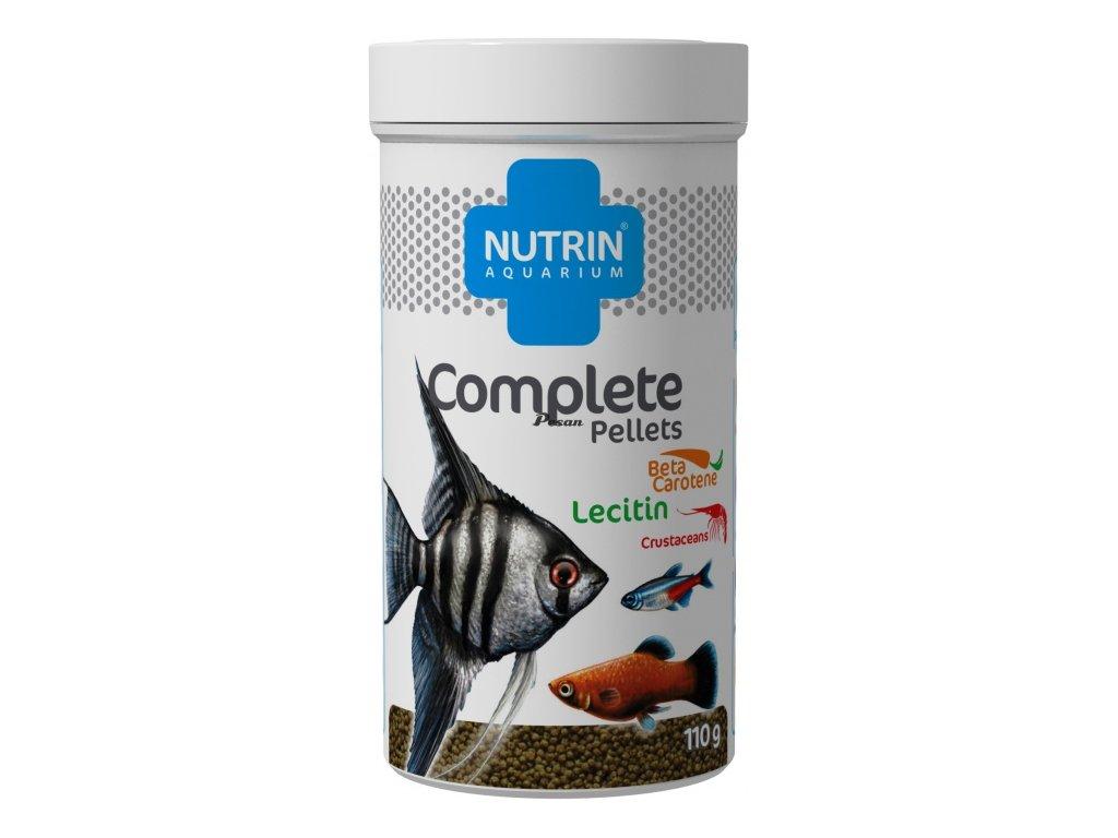 NUTRIN  Aquarium - COMPLETE PELLETS 110g (250ml) - Kompletní krmivo pro všechny druhy akvarijních ryb