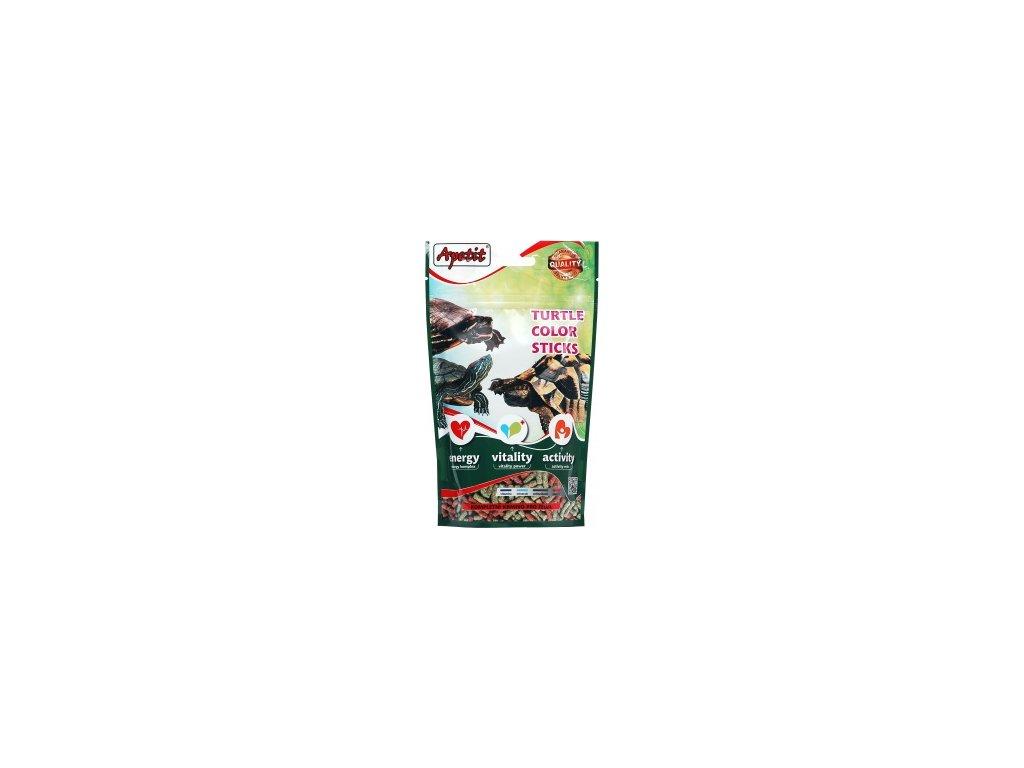 Apetit Granule pro želvu - TURTLE COLOR STICK 120g (ZIP Doypack)