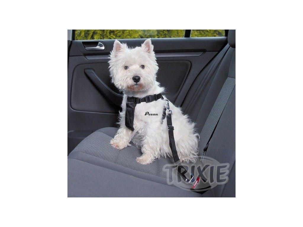 Postroj pes Bezpečnostní do auta XS 20-50cm Trixie