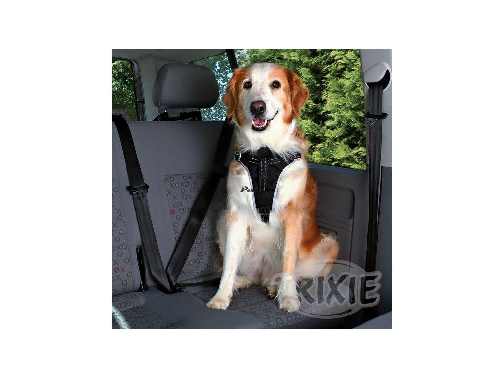 Postroj pes Bezpečnostní do auta M 50-70cm Trixie