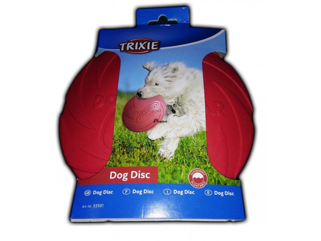 Hračka pes Létající talíř Doggy Disc 18 cm TR