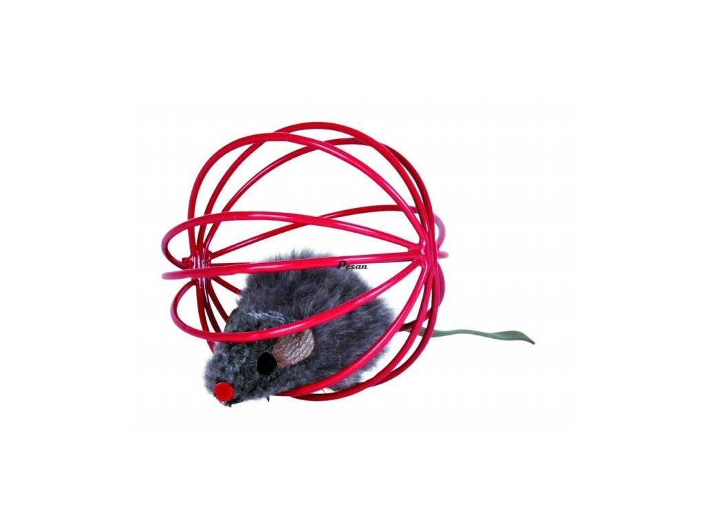 Myš v kleci 6 cm v dóze
