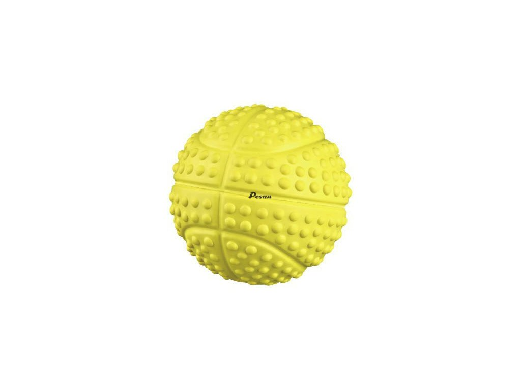 Sportovní míč z tvrdé gumy se zvukem 5.5 cm
