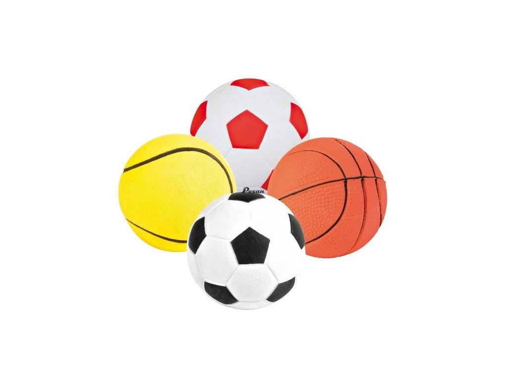 Sortiment míčů,mechová guma 6 cm TRIXIE