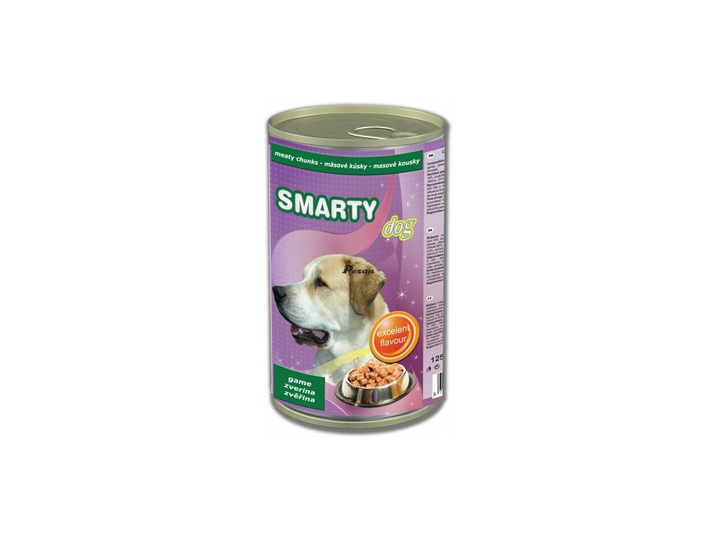 SMARTY knz.DOG GAME zvěřina  1250 g