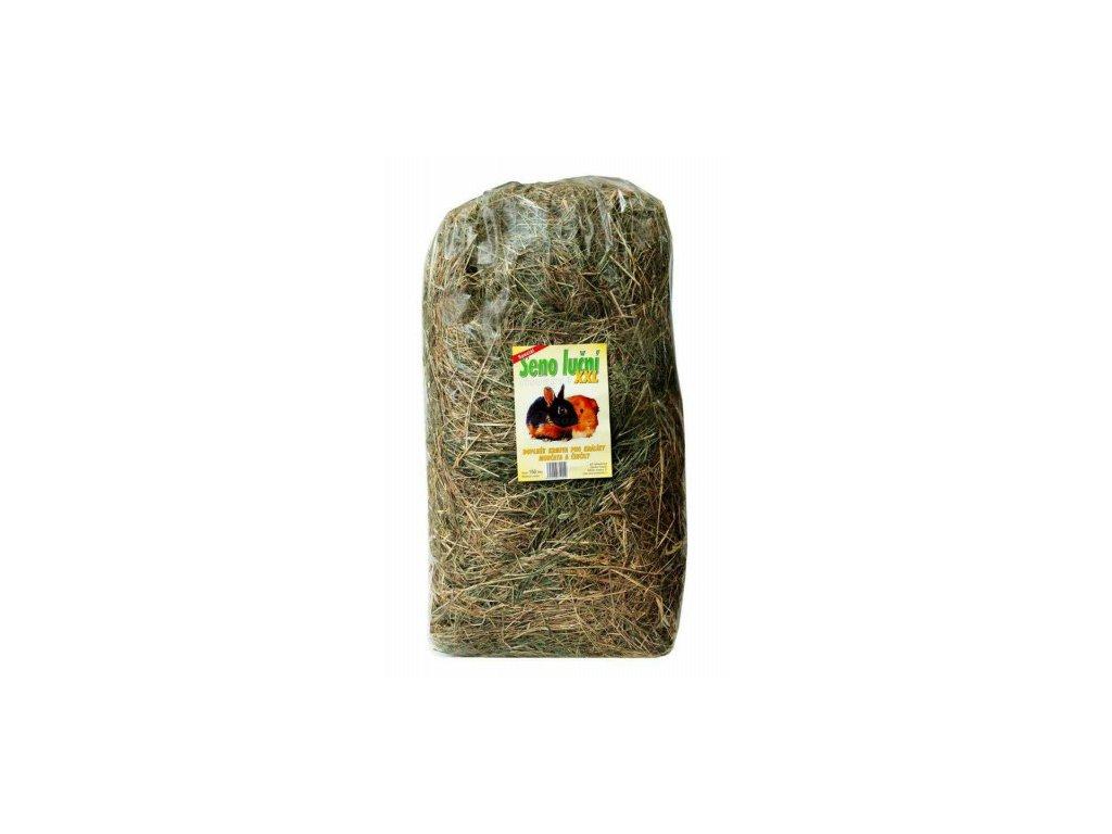 Seno Luční 150 L 5kg pytel Chovatelské balení