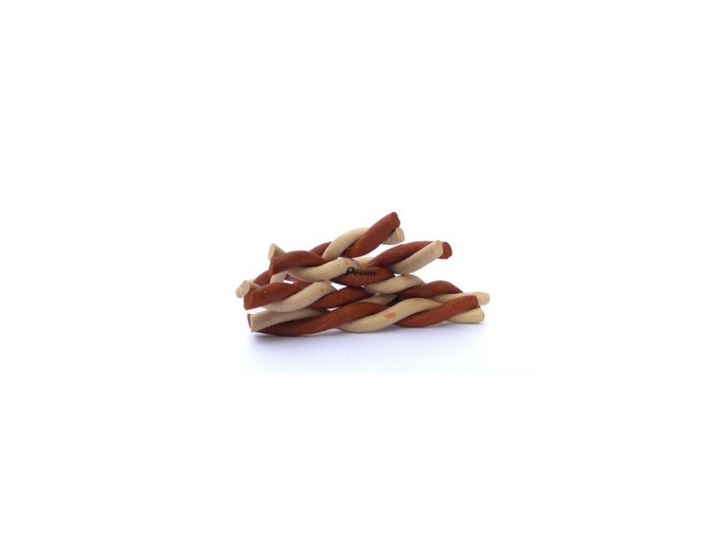 JERKY tyčink.krouc.50ks 12 cm BROWN/WHITE 16.390