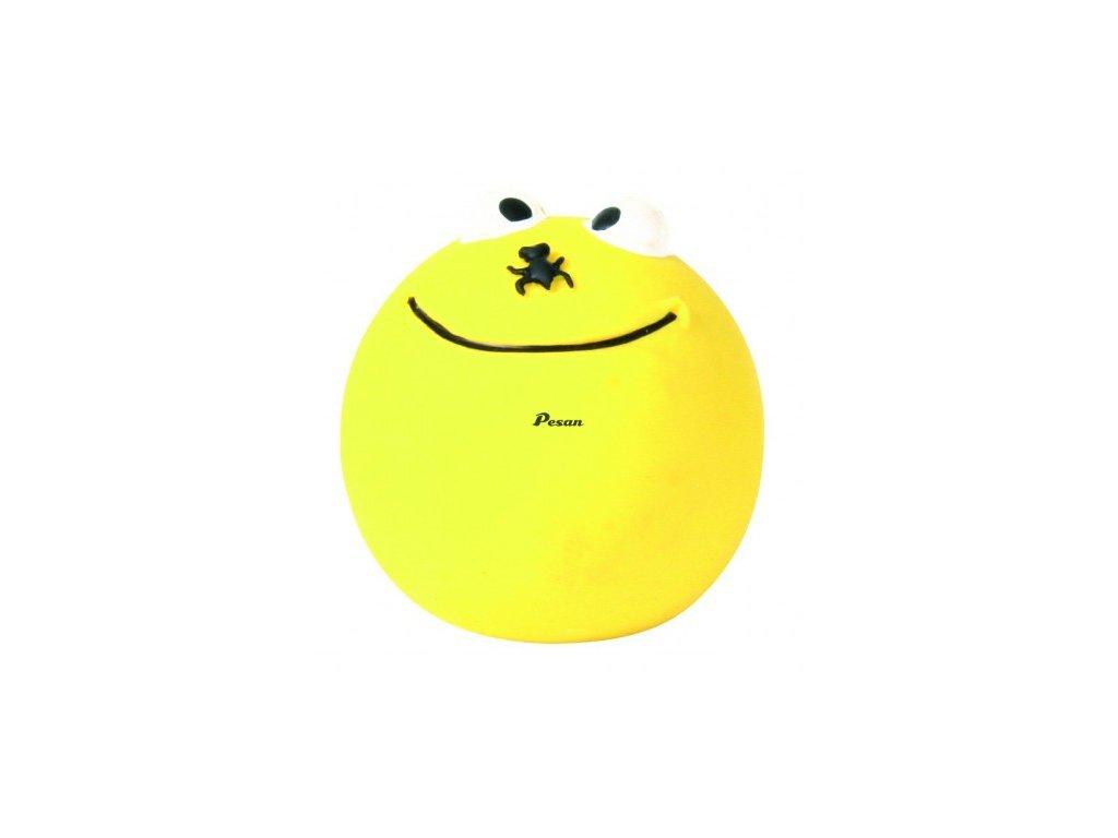 Latexový Smajlík míček žlutý 6 cm TR 1ks