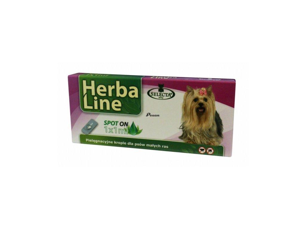 Herba Max Spot On DOG MINI pro psy malých plemen 1x1ml