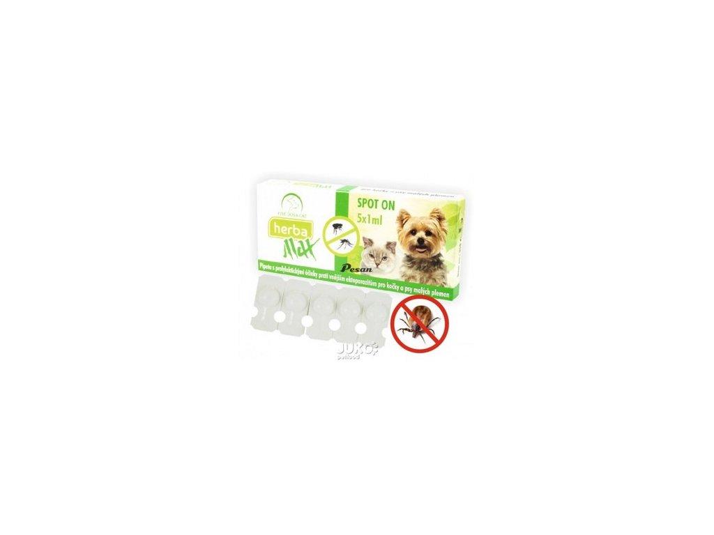 Herba Max Spot On Dog+Cat 5x1ml