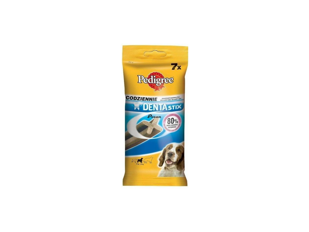 Pedigree DENTA STIX 7ks 180g 10-25 kg