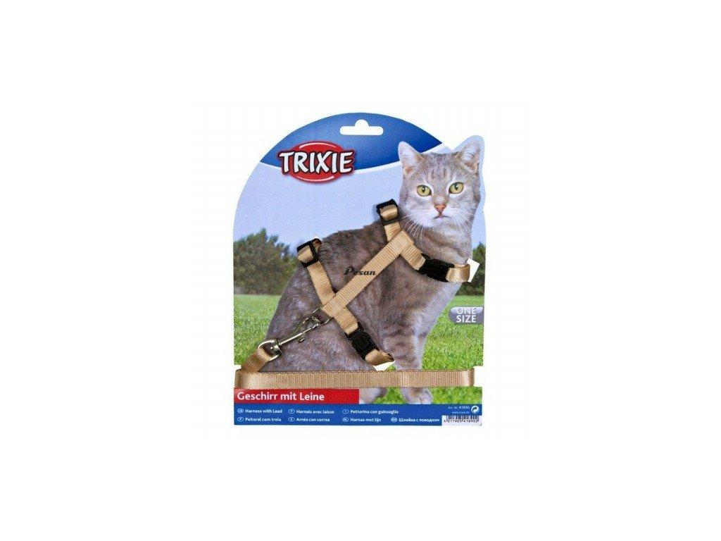 Postroj+vod.kočka,rychlouzávěr 26-43 cm