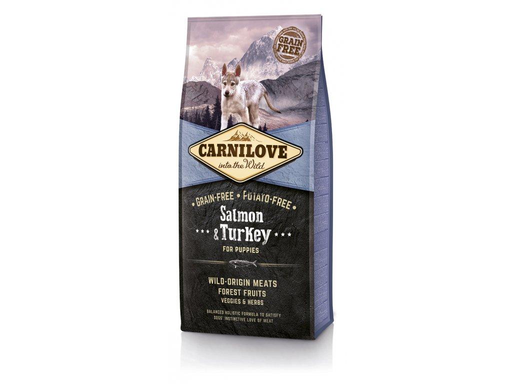 Carnilove Dog Salmon & Turkey for Puppies 12 kg