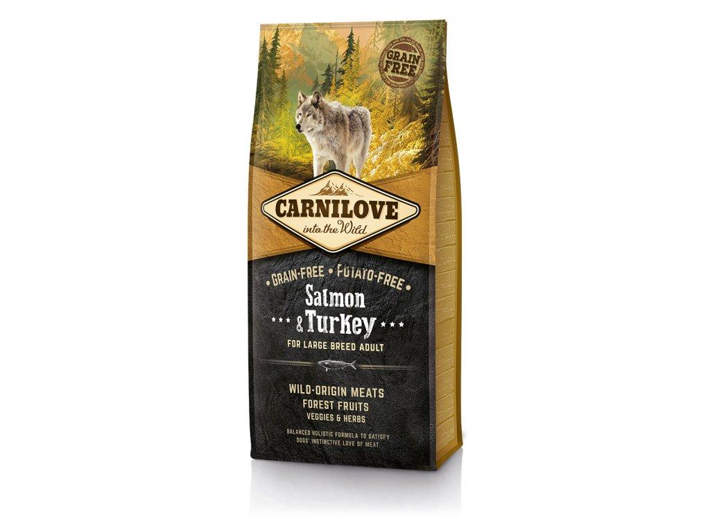 Carnilove Dog Salmon & Turkey for Large Breed Adult 12 kg