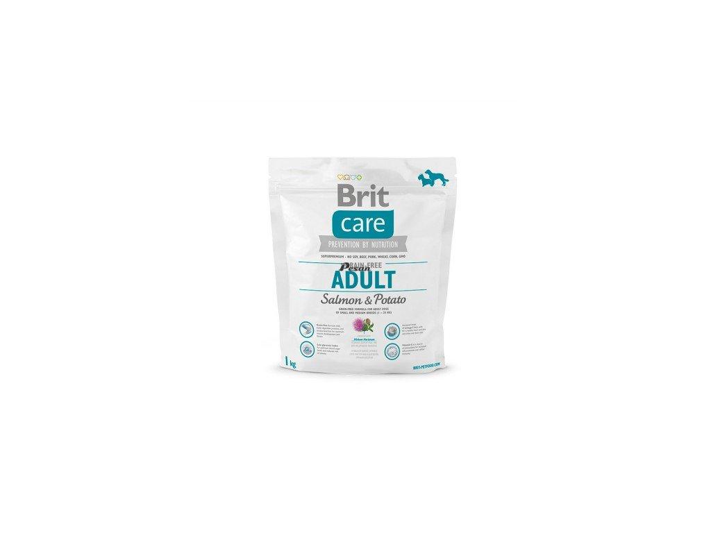 Brit Care Dog Grain-free Adult Salmon & Potato 1 kg