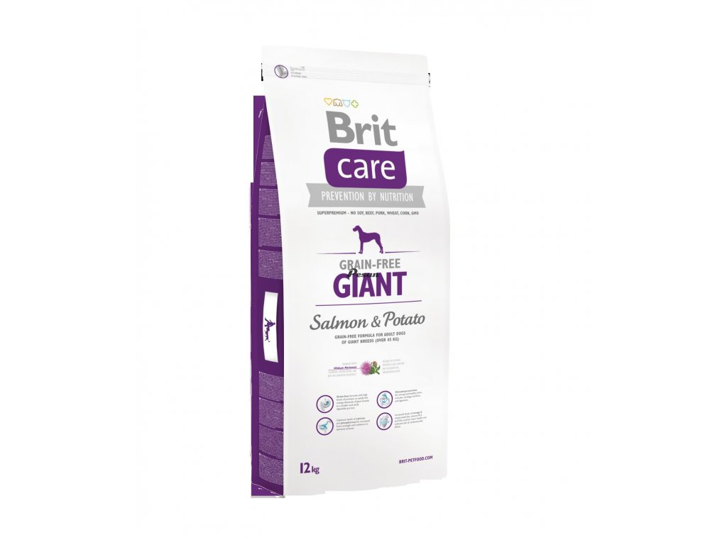 Brit Care Dog Grain-free Giant Salmon & Potato 12 kg