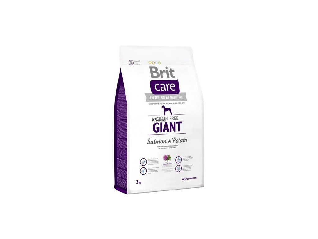 Brit Care Dog Grain-free Giant Salmon & Potato 3 kg
