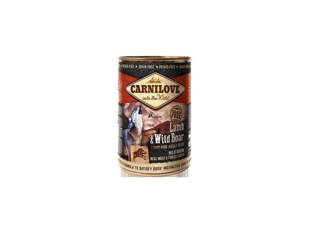 Carnilove Can Dog Wild Meat Lamb & Wild Boar 400 g