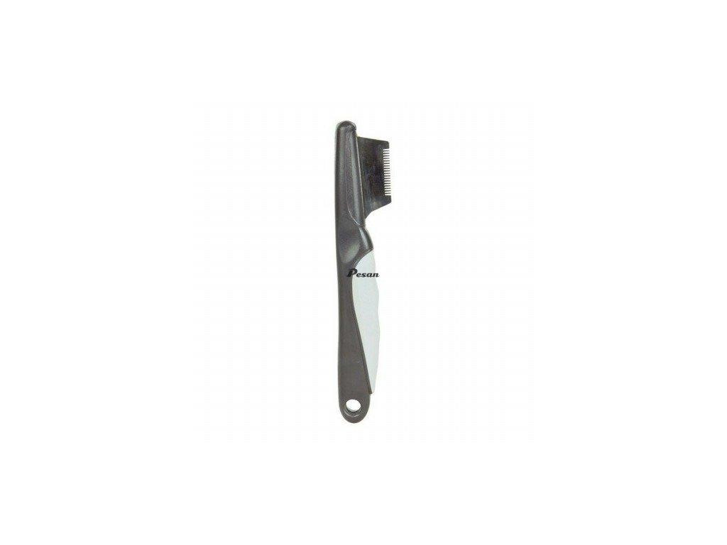Nůž trimovací In Style jemné zuby Trixie