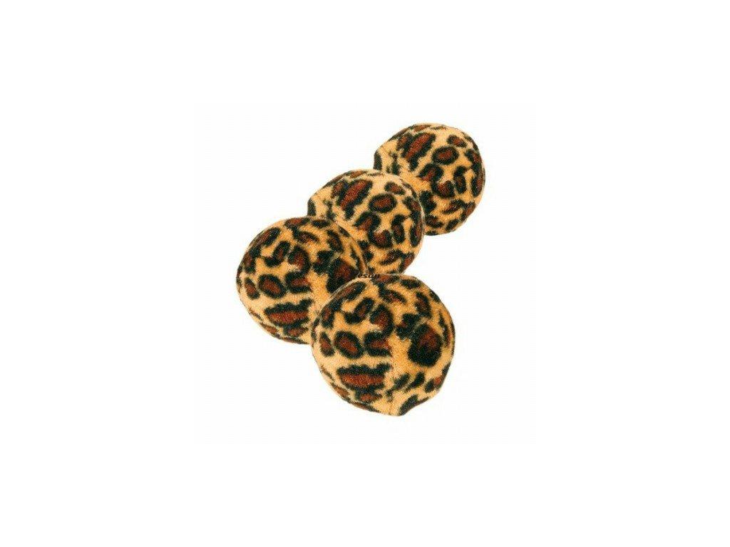 Míčky leopardí motiv 4 cm