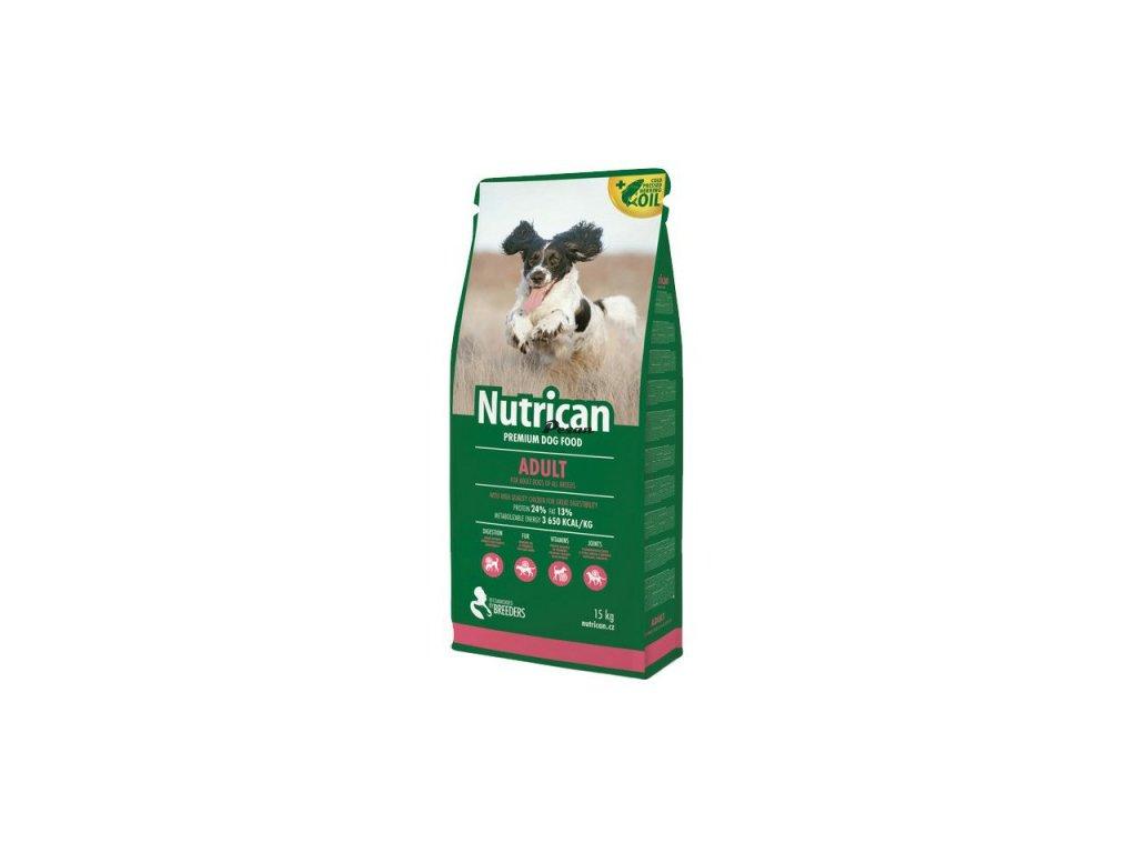 NutriCan Dog Adult 15 kg + 2kg grátis