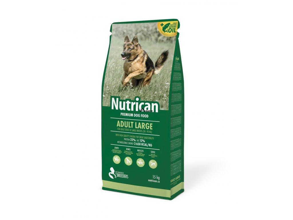 NutriCan Dog Adult Large 15 kg + 2kg grátis
