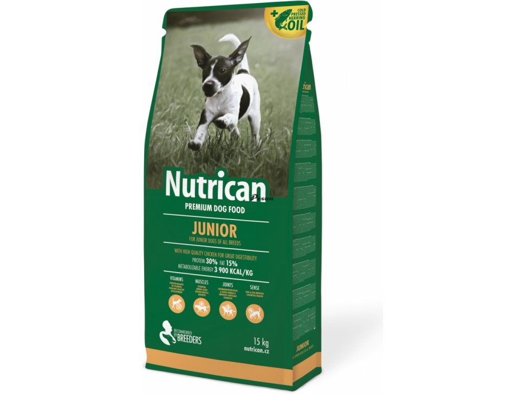 NutriCan Dog Junior 15 kg