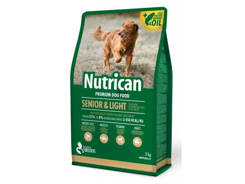 NutriCan Dog Senior Light 3 kg