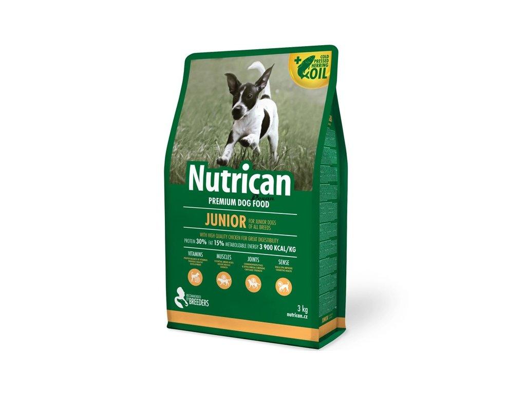 NutriCan Dog Junior 3 kg
