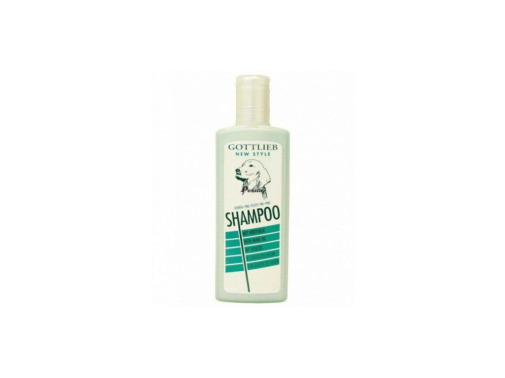 Gottlieb šampon s nork. olejem Smrkový 300ml pes