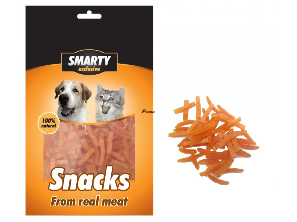 Snack Chicken Thin Strips 70g 13024
