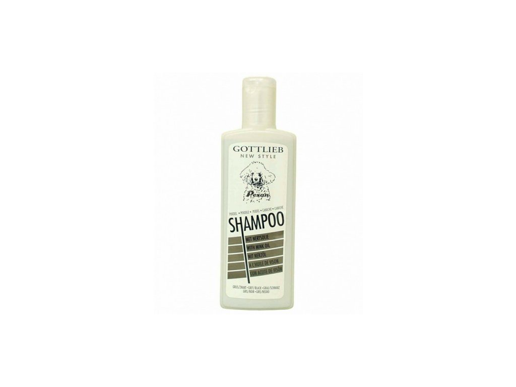 Gottlieb Pudl šampon s nork. olejem Černý 300ml