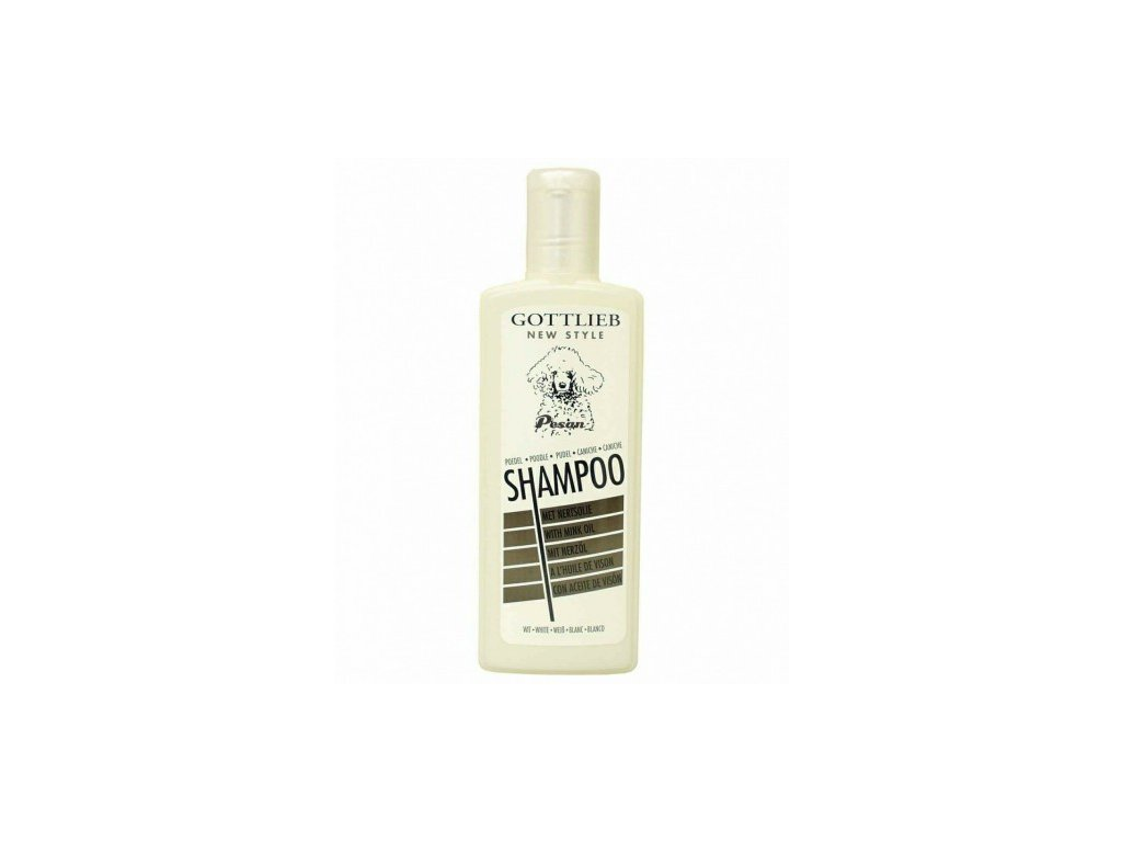 Gottlieb Pudl šampon WHITE 300ml